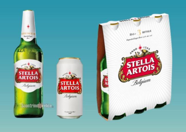 """www.scontrinofelice.it stella artois un calice stellare ricevi un calice come premio certo prodotti stella artois Stella Artois """"Un calice stellare"""": ricevi un calice come premio certo"""