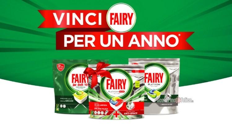 Concorso Fairy per un anno vinci Forniture di prodotti