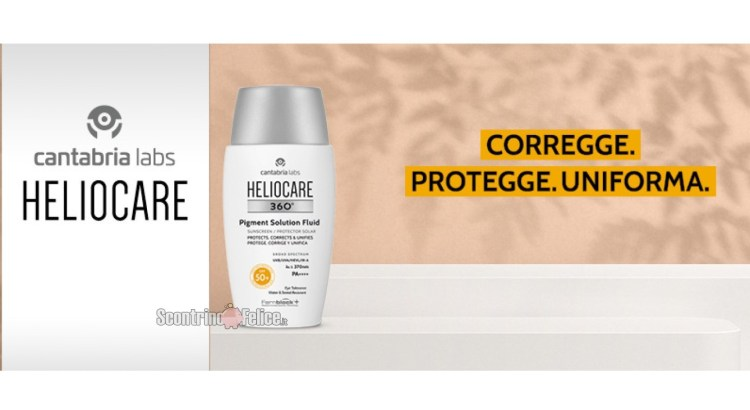 Diventa tester Heliocare 360° Pigment Solution Fluid