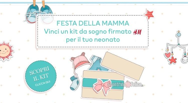 Vinci gratis un kit da sogno firmato H&M per il tuo neonato