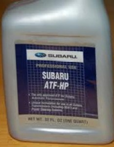 What kind of automatic transmission fluid atf should  use in my subaru also rh scoobyenthusiast