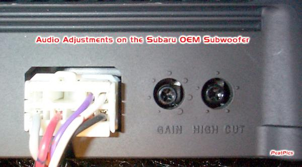 Subaru Speakers Wiring Diagram