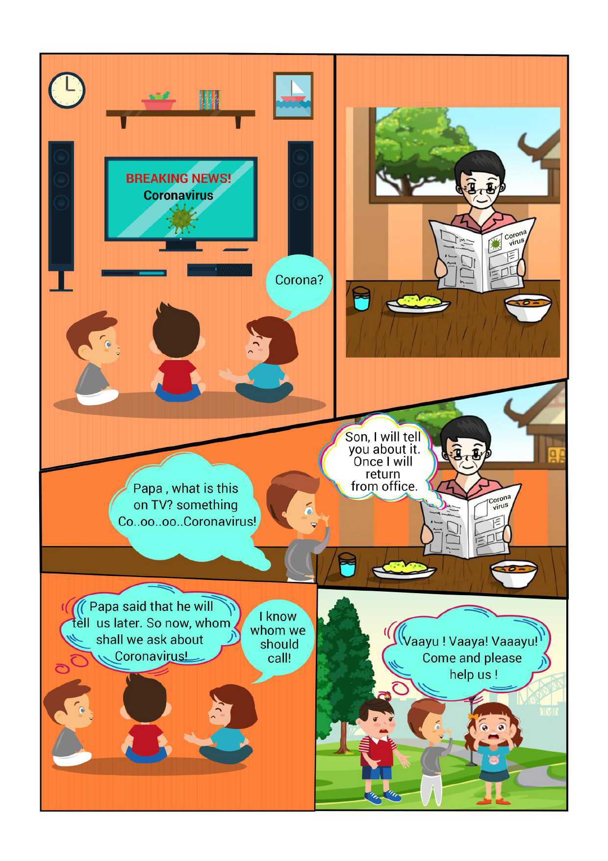 We Absolutely Love This Cartoon Strip For Kids Explaining