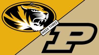 Missouri Football Report – Missouri vs Purdue – September 15, 2018