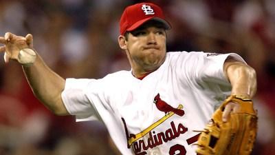 Rolen playing infield- June 2, 2006