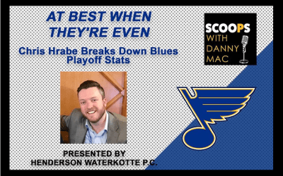 At Best When They're Even – Chris Hrabe Breaks Down Blues Playoff Stats