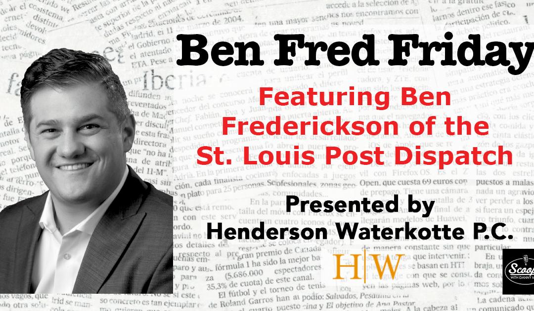 Ben Fred Friday – October 4, 2019