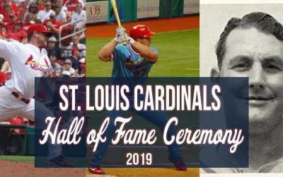 2019 Cardinals Hall of Fame Induction Ceremony – Brian Finch
