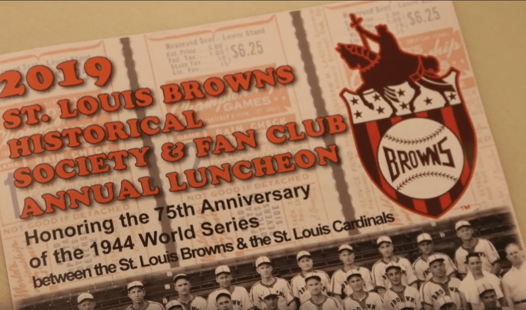 St. Louis Browns Streetcar Series 75th Anniversary Lunch