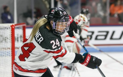 The Women's game shines amongst stars at NHL Skills 2020