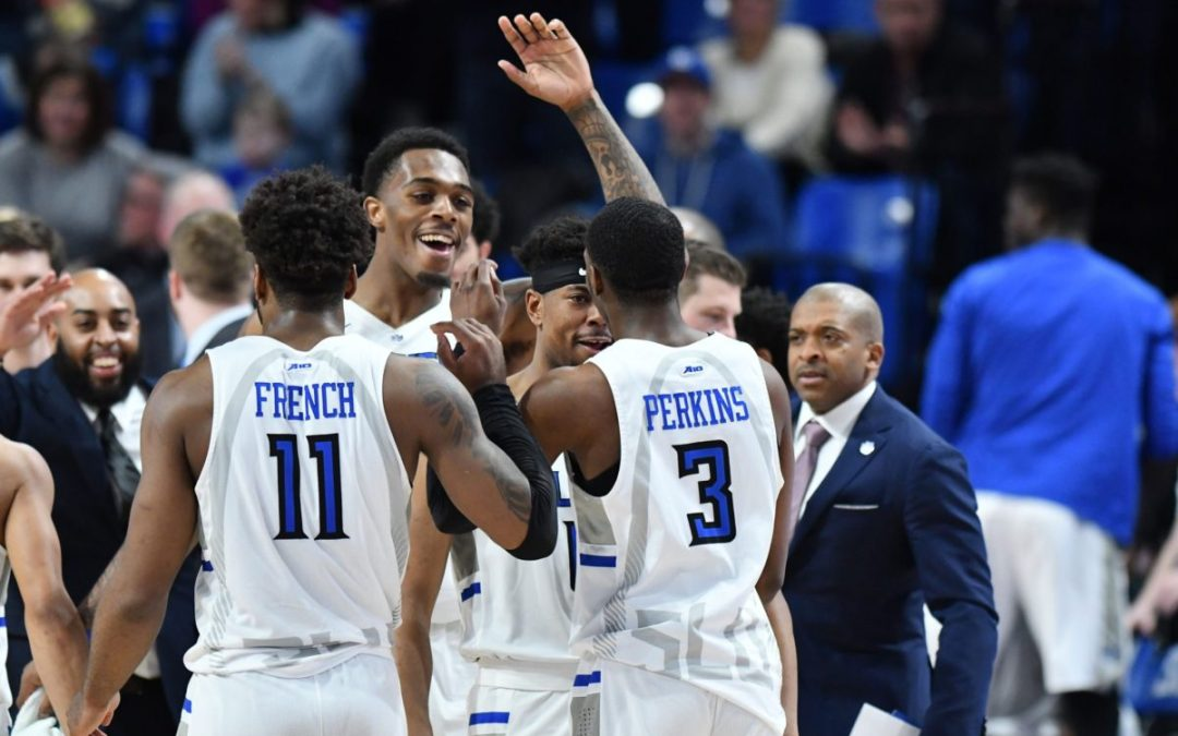 GAMEDAY PREVIEW: It's a trap! Rolling high off a win in Rhode Island, Billikens look to avoid a letdown at George Mason