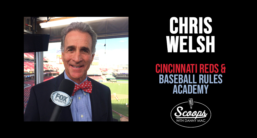 Chris Welsh – Cincinnati Reds and Baseball Rules Academy
