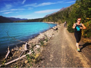 20 miles around Eklutna Lake? #AlaskaFTW