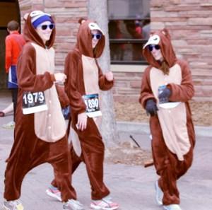 Look y'all, chipmunk runners!