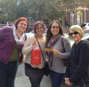 We are not strangers to tours - this was the Boston chocolate tour!