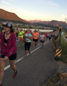 People are walking a half a mile into the race. Altitude + hills = no bueno.