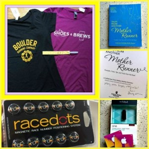 A peek at the giveaway treasure chest!