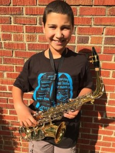First summer youth band concert and his grandparents coming to listen? OVER THE MOON EXCITED!