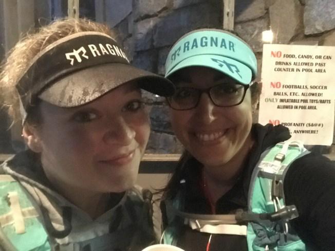 Rain at the Shenandoah Half Marathon.