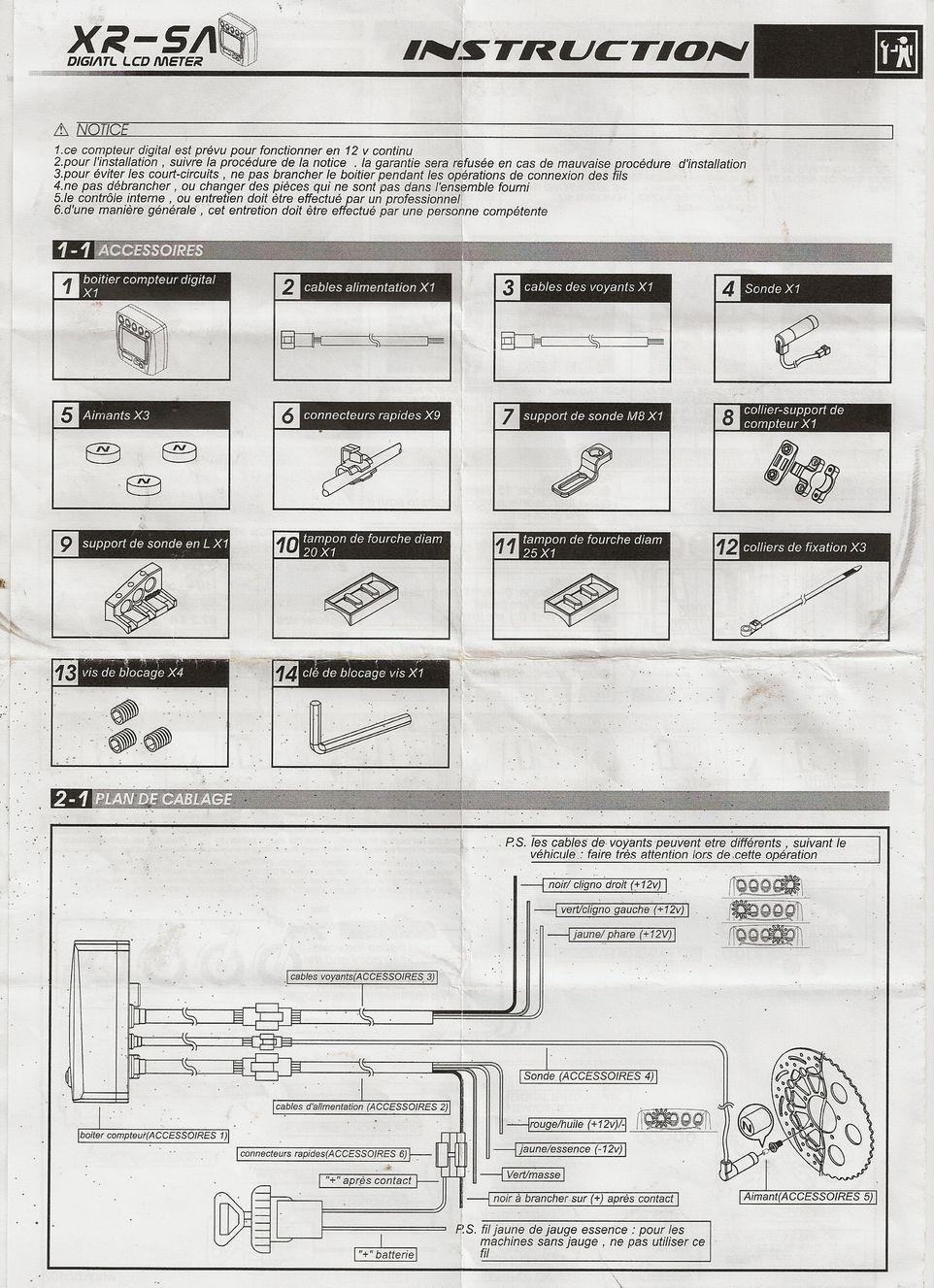 Montage et Réglage du compteur TNT/KOSO sur Nitro/Aerox