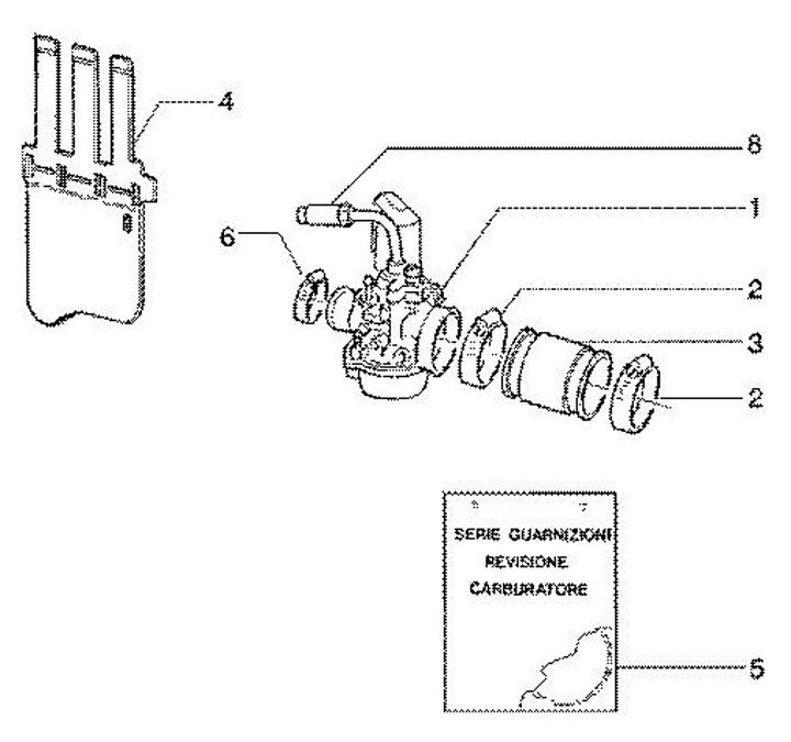 Explosionszeichnungen Gilera Runner 180 FXR (1997