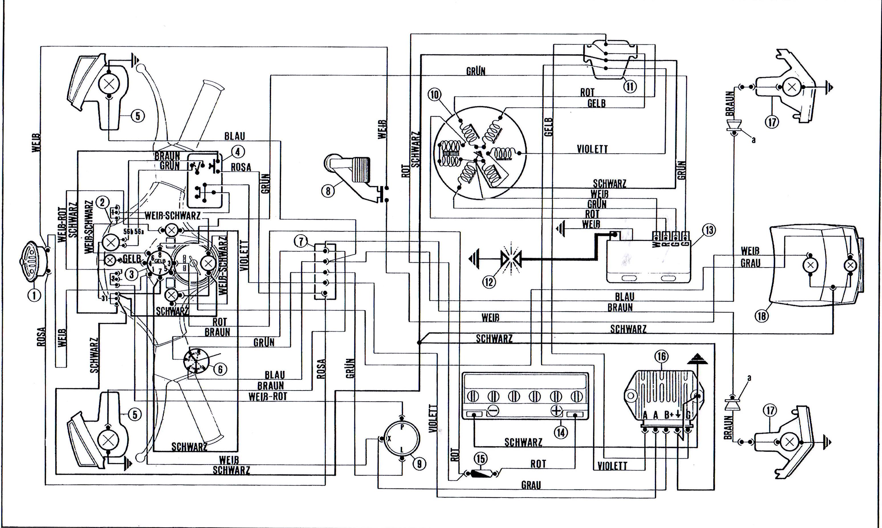[DIAGRAM] Schema Conversione Impianto Elettrico Piaggio 50