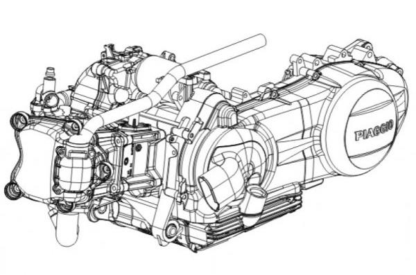 Piaggio 250 Ccm