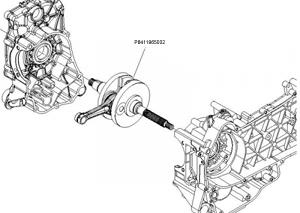 Kurbelwelle 200 ccm 4-Takt (kat 2) √ Scooter-ProSports
