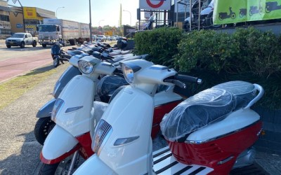 The Peugeot Scooters Have Arrived!