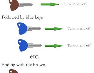 How to code your spare Vespa/Piaggio Key