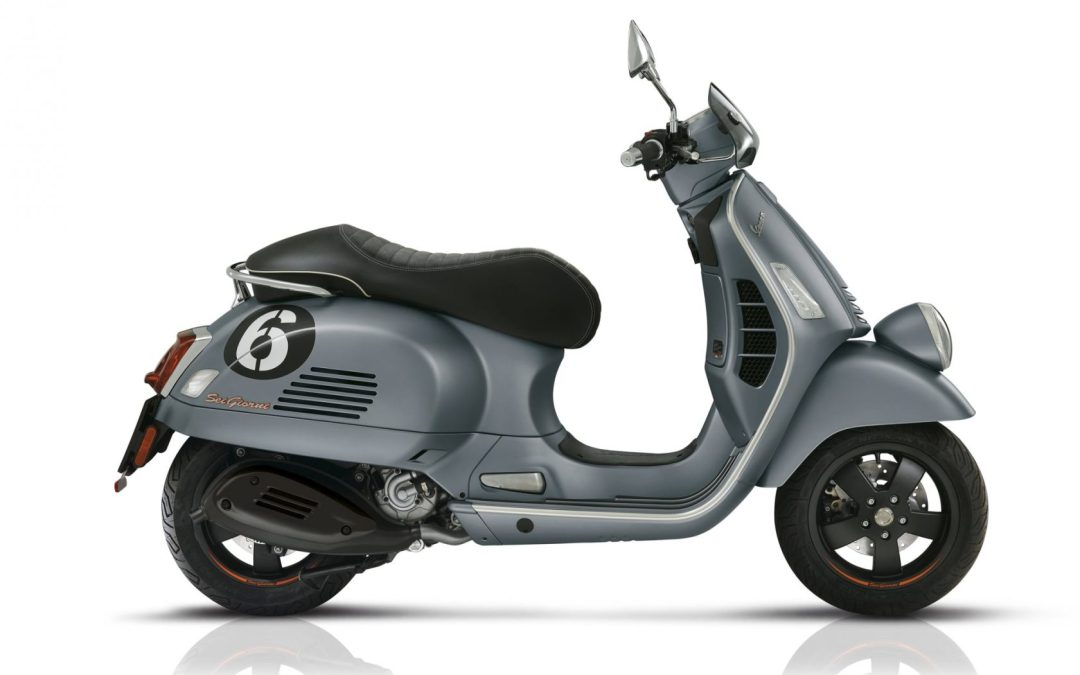 2020 Vespa Sei Giorni II with HP Engine