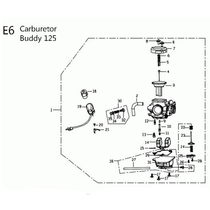 125cc Carburetor Diagram : 24 Wiring Diagram Images
