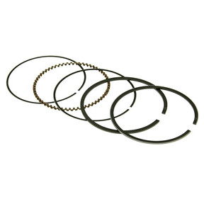 Naraku Piston Rings for 50cc 4-Stroke A/C SYM, Peugeot