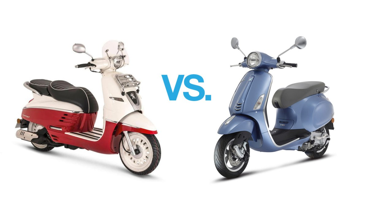 vespa primavera 125 vs peugeot django 125 scooterfile. Black Bedroom Furniture Sets. Home Design Ideas