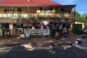 Recap Bubblegum 7 rally in Tumbulgum New South Wales, Australia