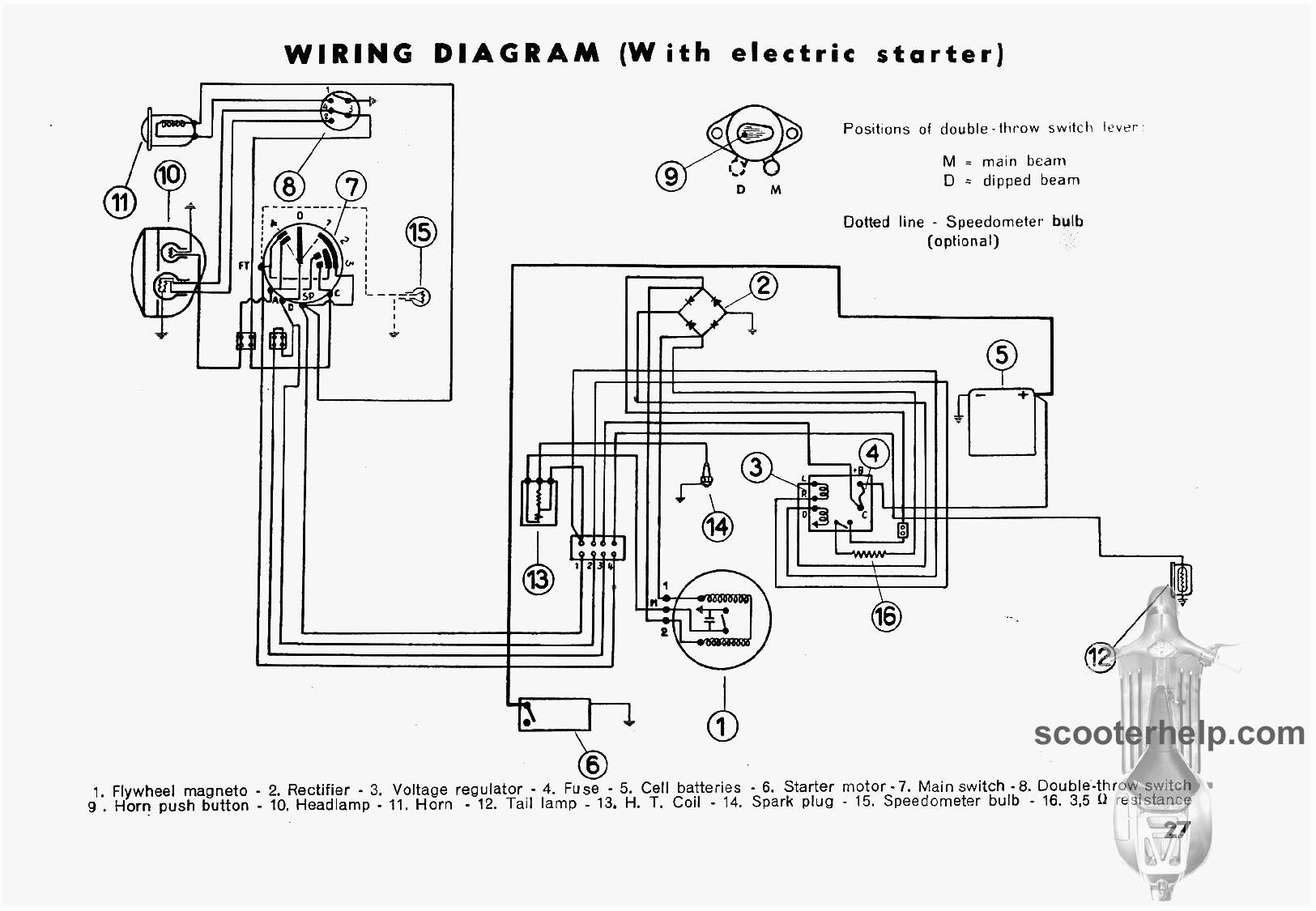 Lambretta D Wiring Diagram Circuit Diagrams Wire Data Parts Rh Sellfie Co