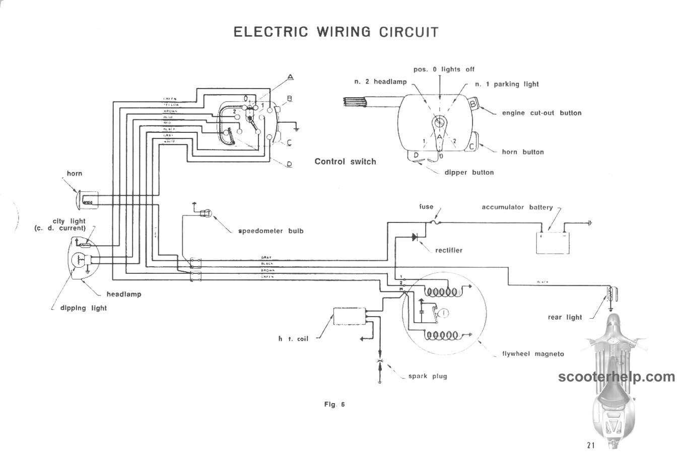 hight resolution of 150 ld factory repair manual 21 150 ld factory repair manual electric scooter wiring diagrams at