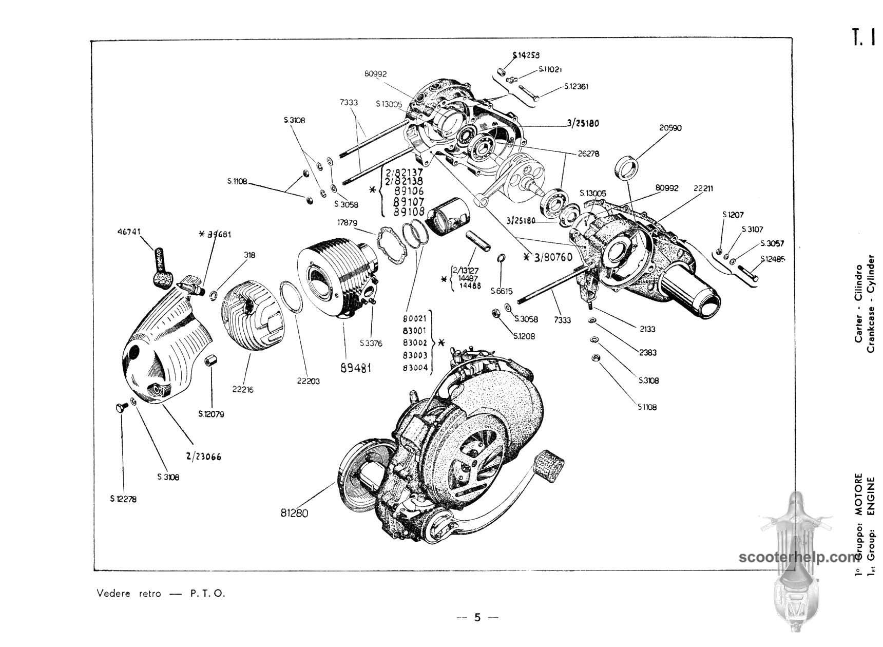 Vespa 150 Vb1t Parts Manual