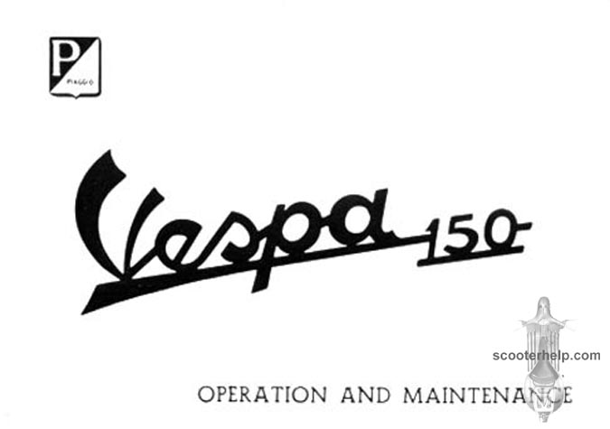 Vespa 150 Owner's Manual