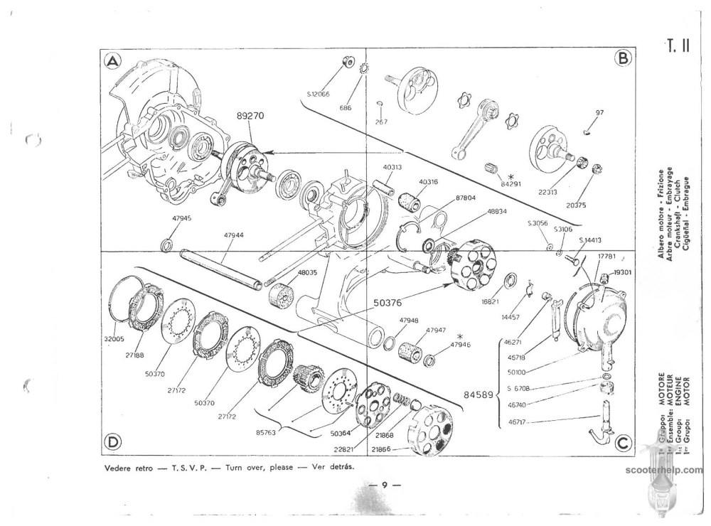 medium resolution of vespa vbb wiring diagram