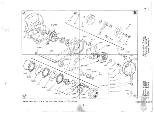 small resolution of vespa vbb wiring diagram