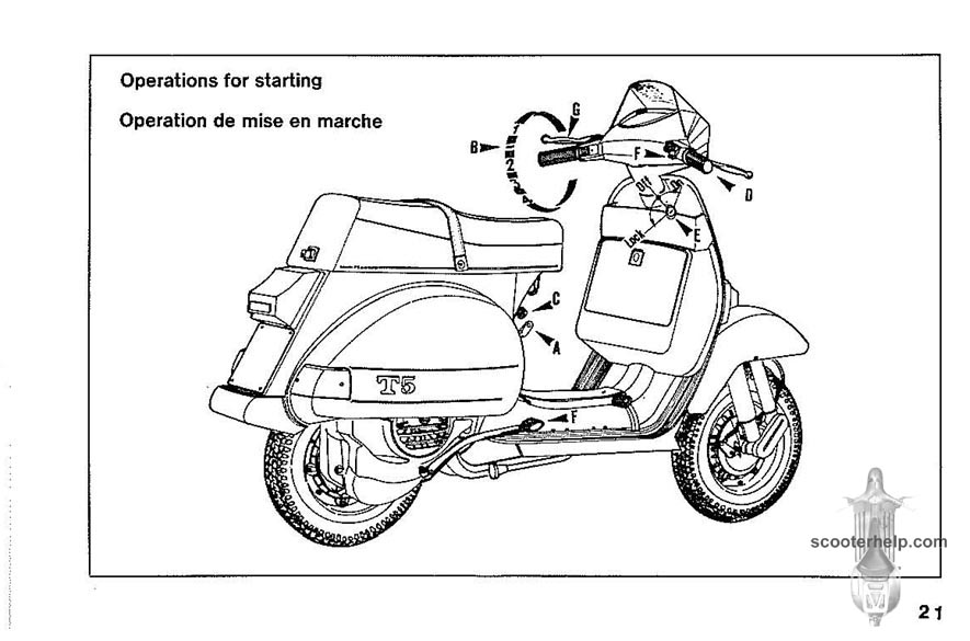 Vespa T5 Owner's Manual