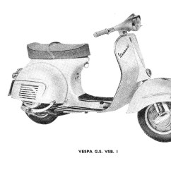 vespa vsb1t gs160 factory repair book [ 1600 x 1000 Pixel ]
