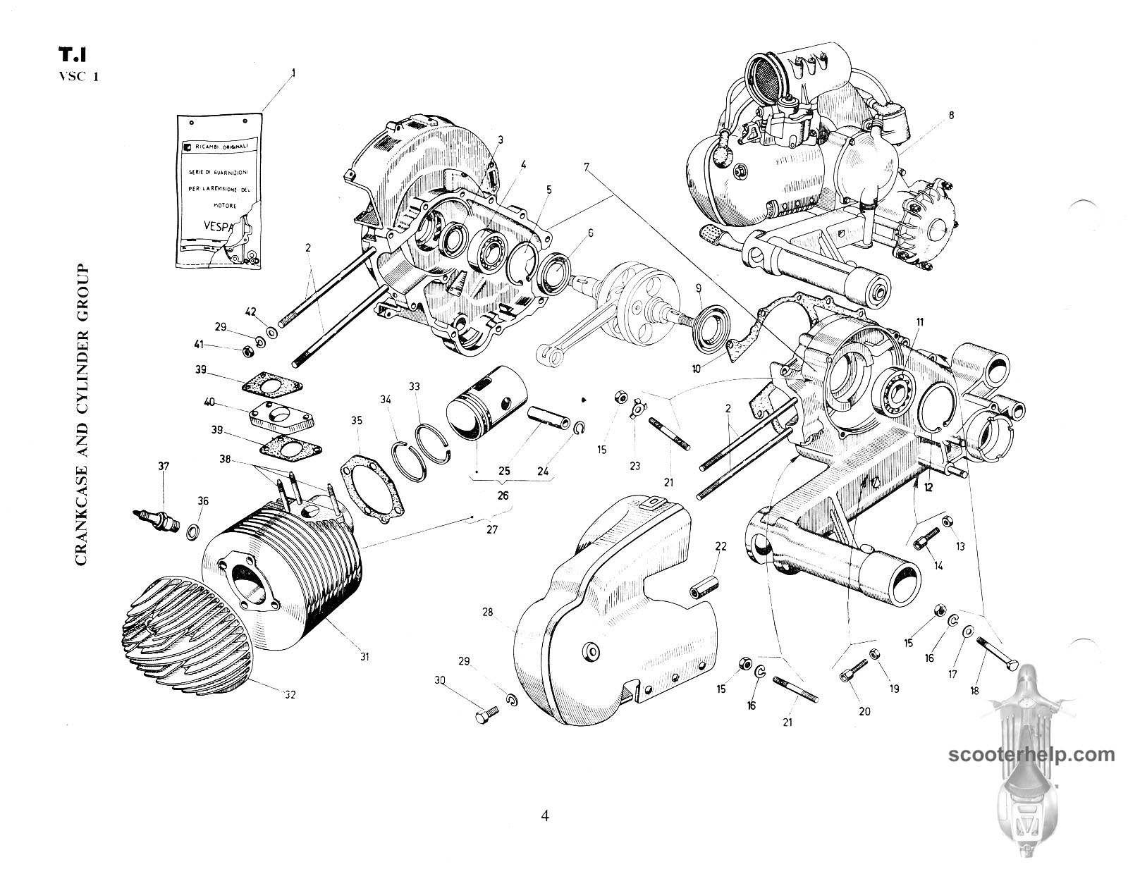 hight resolution of vespa vbb wiring diagram
