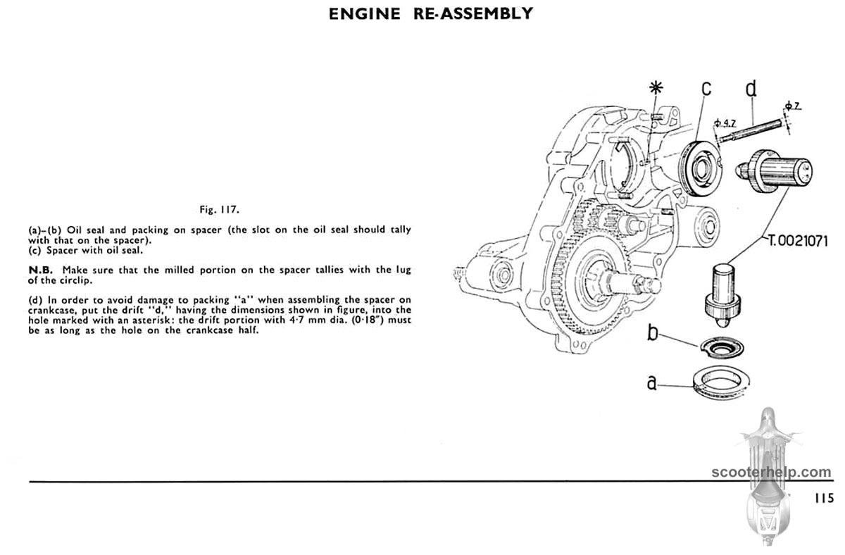 Vespa Douglas 152L2 Service Manual