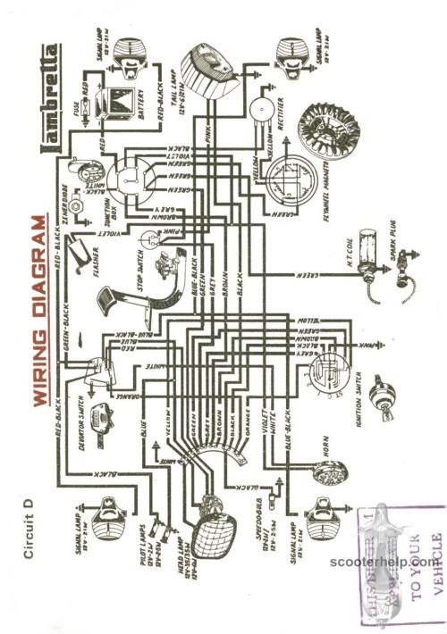 small resolution of lambretta wiring diagram schema diagram database lambretta gp wiring diagram lambretta wiring diagram