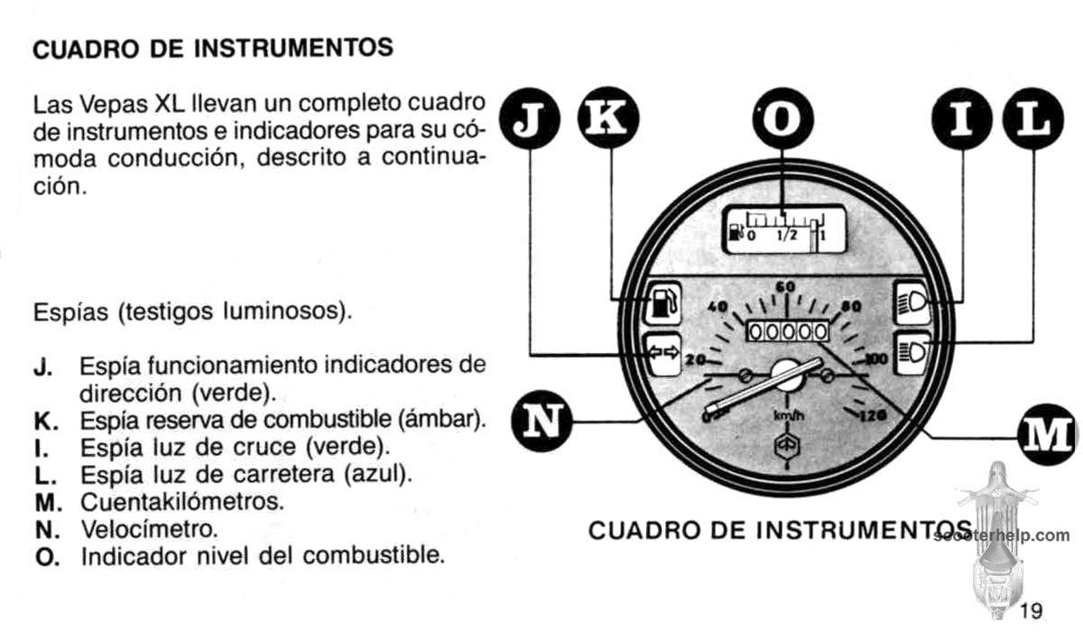 MotoVespa XL125 Owner's Manual