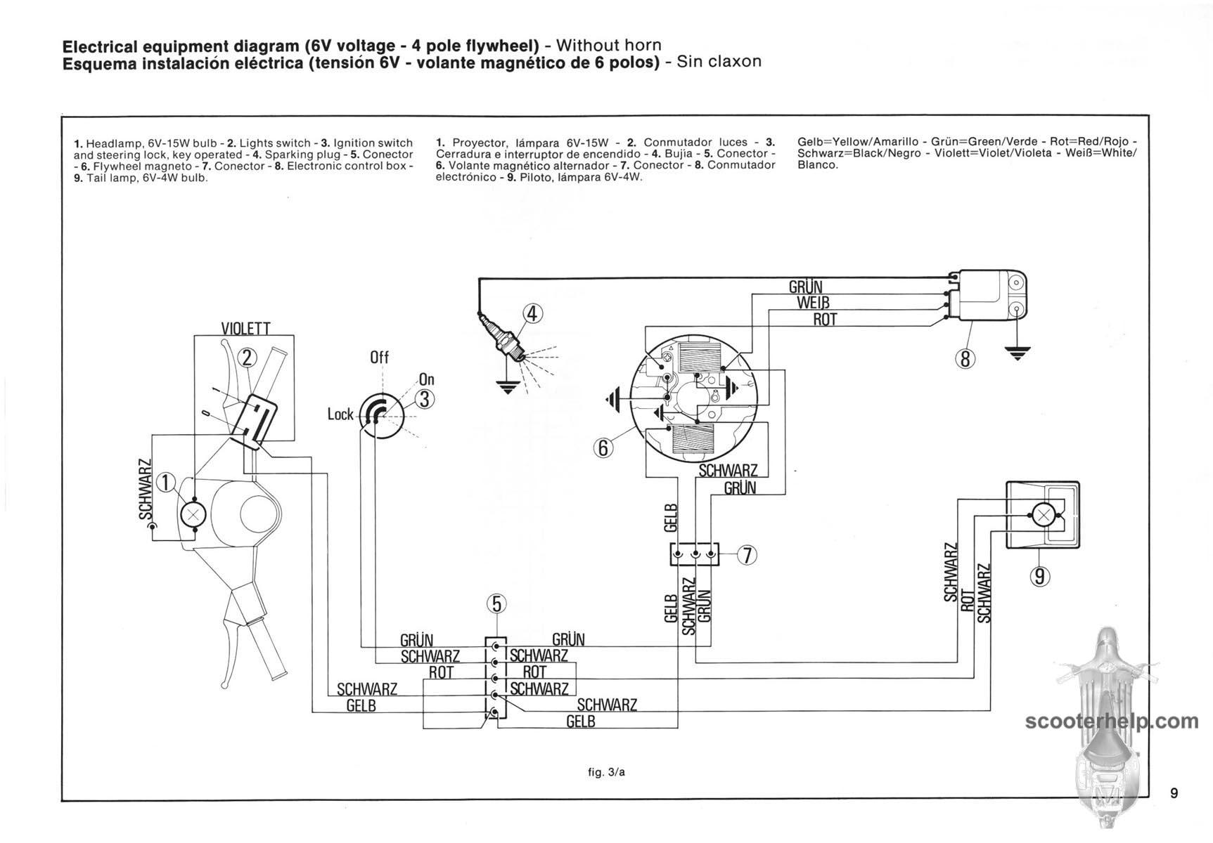 hight resolution of vespa pk50 pk50s pk50ss pk80s pl100s pk110s pk125 pk factory repair manual