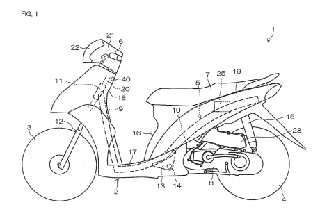 Yamaha patents stop/start technology