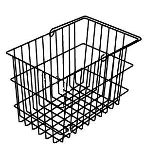 Jazzy Select Large Square Rear Basket (ACCBSKT1004)